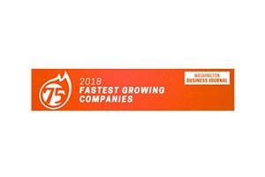 Washington Business Journal – 2018 Fastest Growing Companies