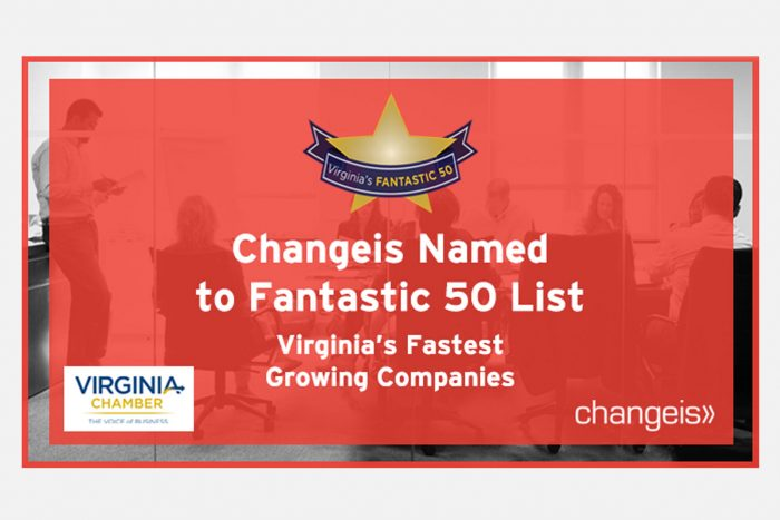 Changeis Named to Fantastic 50 List