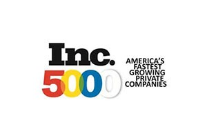 2016, 2017 & 2018 Inc. 5000 Fastest Growing Companies, Inc. Magazine