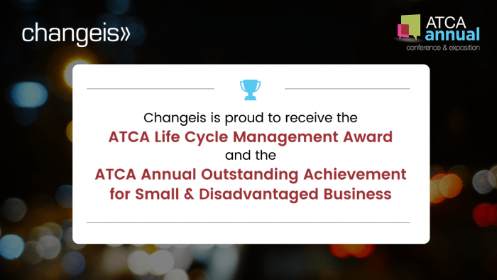 Changeis, Inc. Proud Recipient of Two Prominent Air Traffic Control Association (ATCA) Awards
